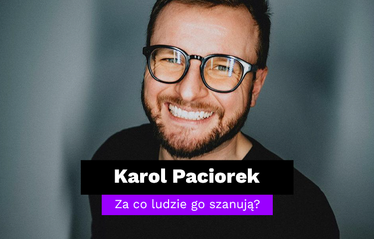 Karol Paciorek - analiza influencera